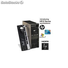 Hp Z600 Workstation Xeon E5620 Quad Core 2,4 Ghz . 12 Gb 300 Gb SAS Win 7 Pro Nv