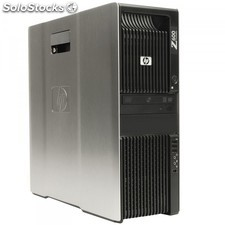 Hp Z600 Workstation Xeon E5620 Quad Core 2,4 Ghz . 12 Gb 320 Gb Win 10 Pro