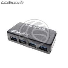 Hub 4 USB 3.0 SuperSpeed AH with power supply (UU21)