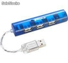 Hub Targus 4 Puertos TRAVEL USB 2.0 ACH74US