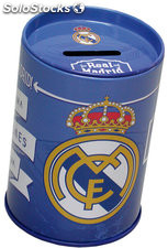 Hucha Cubilete de Metal Real Madrid