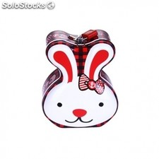 "Hucha de metal ""diver rabbit"""