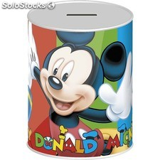Hucha metal, disney, -mickey-, 12X16CM - disney - mickey - 8433774554714 -