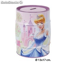 Hucha metal princess, disney, -princess-, 13x17cm.
