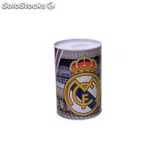 Hucha metálica real madrid