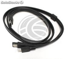 Hybrid Cable eSATAp to eSATA and mini usb male 3m (UE83)