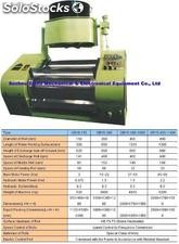 Hydraulic Three Roll grinder for electronics, cosmetics, soap and medical p