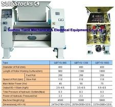 Hydraulic Two Roller Grinder Series for food, chocolate, soap, pharmaceuti