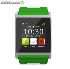 I am Watch verde, reloj con Android para Smartphones