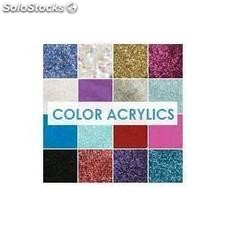 Ibd acrilico glitter color canyon cloud glitter