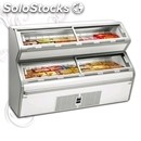 Ice cream and frozen food display refrigerator - mod. voyager200nt - temperature