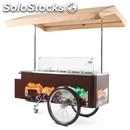Ice cream truck-ventilated-able # 8 air cooled condensing units-buckets-