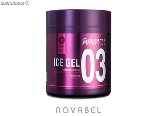 Ice Gel Cera Capilar 500 ml. Salerm