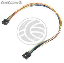 IDC10 internal cable for USB and serial port 30 cm female to female (US29-0002)