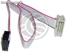 IDC10 internal cable for USB and serial port 30 cm male to female (US28)