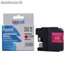 iggual Cartucho Reciclado Brother LC123M Magenta