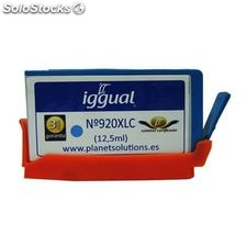 iggual Cartucho Reciclado hp nº 920XL CD972A Cian