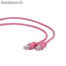 iggual - IGG310663 2m Cat5e u/utp (utp) Rosa cable de red