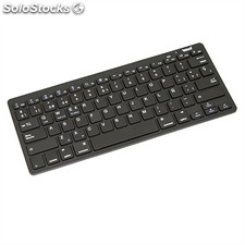 ✅ iggual little teclado mini bluetooth 3.0 negro