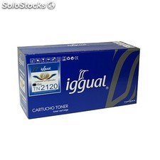 iggual - Tóner Reciclado Brother TN-2120 Negro