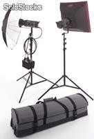 Illuminatori - Bowens Gemini Kit 2x500 Travel-Pack