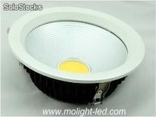 iluminación comercial cob led Downlight 20 Watt 6In ac110v 127v 220v ce rosh