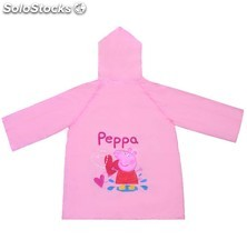Impermeable Corazones Peppa Pig 3990 PPT02-3990