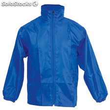 Impermeable grid azul