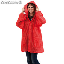 Impermeable hydrus rojo