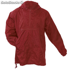 Impermeable toluc* burdeos