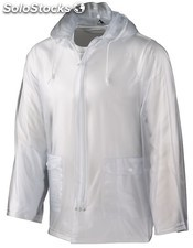 Impermeable transparente