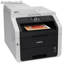 Impresora láser brother mfc-9340CDW led color usb/Red/WiFi