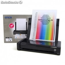 Impresora portatil epson wifi workforce wf-100W - A4 - 14/11 ppm borrador -