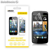 Imuca Anti Blu-Ray Screen Protector for htc Desire 500/509D