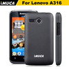 iMUCA Case for Lenovo A316 iMUCA Organdy Series pc Case for Lenovo A316 Cover