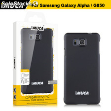 iMUCA Case for Samsung Galaxy Alpha Original iMUCA Organdy Series PC Case for