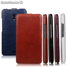 IMUCA Concise Leather Case for Huawei Ascend Mate 2