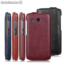 IMUCA Concise Leather Case for Huawei Ascend Y511