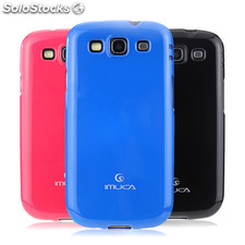 IMUCA Cool Color TPU Shine case for Samsung Galaxy S3/i9300 Rubber Silicone