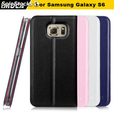 IMUCA Lead smart flip leather case mobile phone bags& cover for Samsung Galaxy