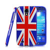 IMUCA Unique Series TPU UK flag back case cover for samsung galaxy s4 i9500