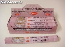 Incenso Aarti Almíscar branco 20 sticks