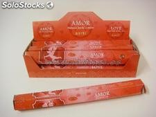 Incienso Aarti Amor 20 sticks