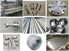 inconel steel flange round bar wire rod fasteners tube pipe fittings forging pla