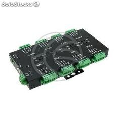 Industrial adapter USB 2.0 to RS232 RS422 RS485 opto-isolated 8 ports (UB97)