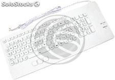 Industrial Keyboard 102-key USB mouse and white (KF52)