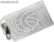 Industrial keyboard with 85 keys USB mouse and white (KF62)