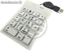 Industrial keypad 18-key USB and white Calculator (KF82)