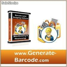 Industrial, Manufacturing and Warehousing Industry Barcode Label Software