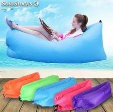 Inflable de playa Lounger Air Sleeping Bag Sofá al aire libre